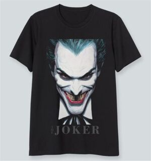 JOKER CAMISETA NEGRA THE JOKER L