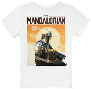 STAR WARS THE MANDALORIAN CAMISETA GRIS NIÑO 10 AÑOS MANDALORIAN LOGO