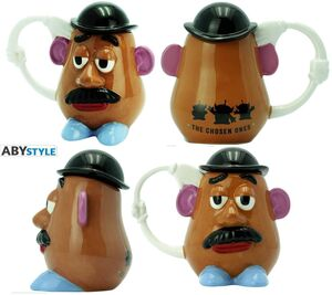 TOY STORY TAZA 3D MR POTATO