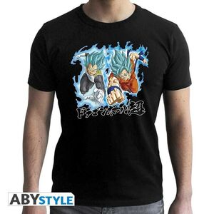 DRAGON BALL SUPER CAMISETA CHICO NEGRA GOKU & VEGETA XXL