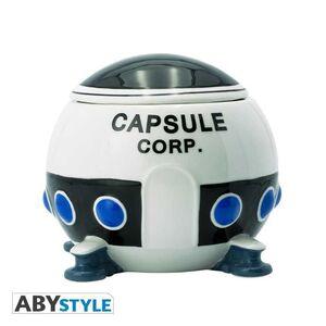 DRAGON BALL TAZA 3D NAVE ESPACIAL CAPSULE CORP