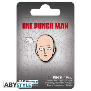 ONE PUNCH-MAN PIN METALICO SAITAMA