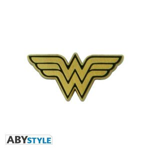 WONDER WOMAN PIN METALICO LOGO WONDER