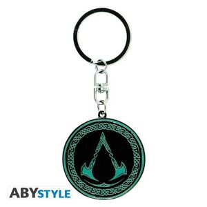 ASSASSINS CREED LLAVERO ESCUDO VALHALLA