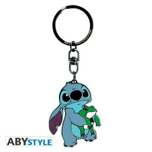LILO Y STITCH LLAVERO METAL STITCH
