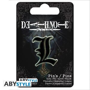 DEATH NOTE PIN L
