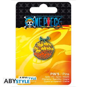 ONE PIECE PIN FLAME-FLAME FRUIT