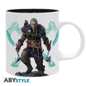 ASSASSINS CREED TAZA CERAMICA 320 ML VALHALLA