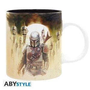 STAR WARS TAZA 320 ML MANDO