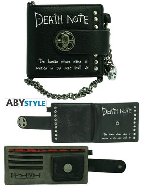 DEATH NOTE CARTERA PREMIUM DEATH NOTE Y RYUK