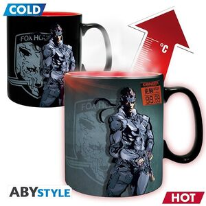 METAL GEAR SOLID TAZA TERMICA 460ML SOLID SNAKE
