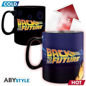 REGRESO AL FUTURO TAZA TÉRMICA 460ML TIME MACHINE