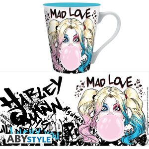 HARLEY QUINN TAZA 250ML MAD LOVE