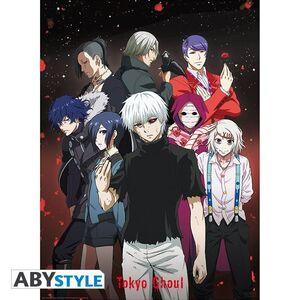 POSTER TOKYO GHOUL GRUPO 52 X 38