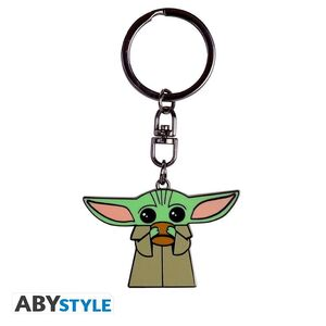 STAR WARS THE MANDALORIAN LLAVERO METAL BABY YODA - THE CHILD