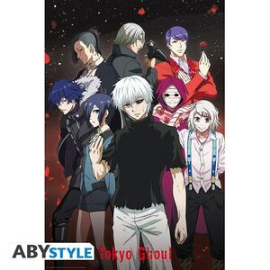 TOKYO GHOUL POSTER GROUP 91.5 X 61