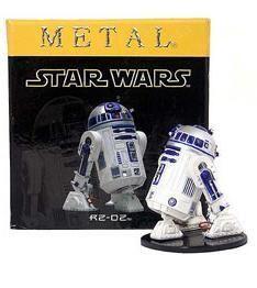 STAR WARS ESTATUA METAL 6 CM R2-D2