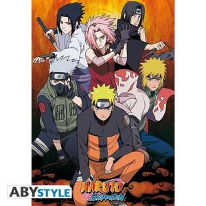 POSTER NARUTO SHIPPUDEN GROUP 98X68CM