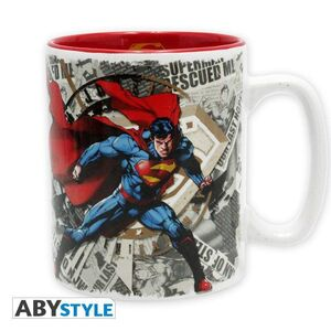 SUPERMAN TAZA 460ML SUPERMAN Y LOGO
