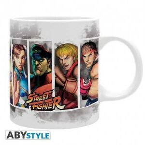 STREET FIGHTER TAZA CERAMICA 320 ML CHARACTERS