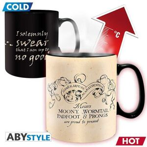 HARRY POTTER TAZA CERAMICA 460 ML SENSITIVA AL CALOR MARAUDER