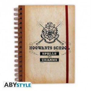 HARRY POTTER LIBRETA HOGWARTS SCHOOL