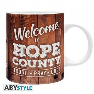 FAR CRY 5 TAZA CERAMICA 320 ML WELCOME TO HOPE COUNTY