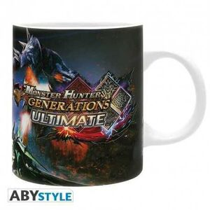 MONSTER HUNTER TAZA 320 ML ULTIMATE GENERATIONS