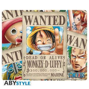 ONE PIECE ALFOMBRILLA RATON WANTED PIRATES