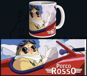STUDIO GHIBLI TAZA PORCO ROSSO