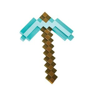 MINECRAFT REPLICA PLASTICO PICO DIAMANTE