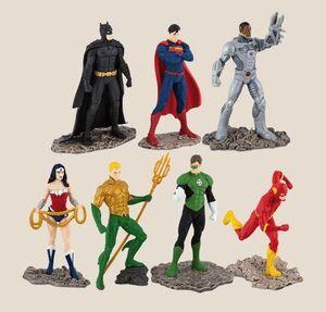 LIGA DE LA JUSTICIA SET 7 FIGURAS 10 CM JUSTICE LEAGUE DC COMICS