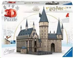 HARRY POTTER PUZZLE CASTILLO HOGWARSTS 630 PIEZAS 3D