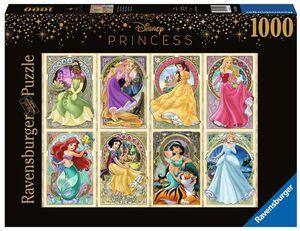 PRINCESAS ART NOUVEAU PUZZLE 1000 PIEZAS