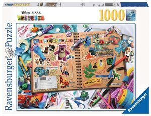 DISNEY PIXAR PUZZLE 1000 PIEZAS SCRAPBOOK