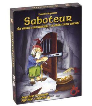 SABOTEUR DELUXE BASICO + EXPANSION