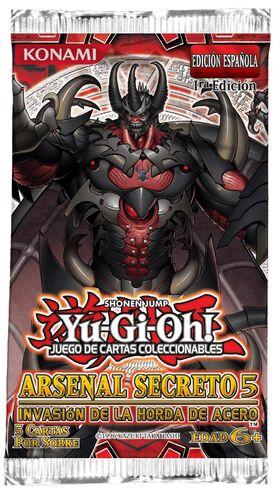 YU-GI-OH: ARSENAL SECRETO 5 SOBRE