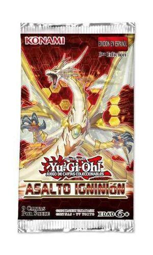 YU-GI-OH ASALTO IGNICION SOBRE
