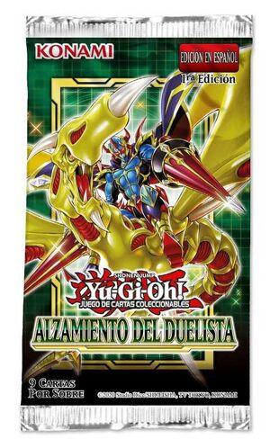 YU-GI-OH ALZAMIENTO DEL DUELISTA SOBRE (CASTELLANO)