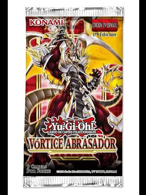YU-GI-OH: VORTICE ABRASADOR SOBRE