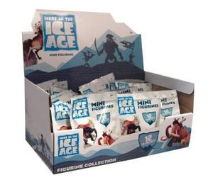 ICE AGE 4 DISPLAY 24 MINIFIGURAS 5CM