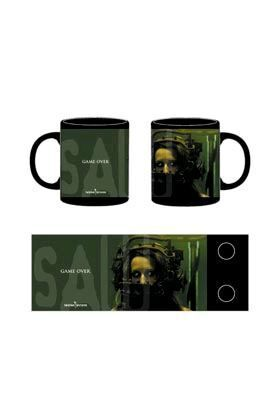 SAW TAZA CERAMICA GAME OVER