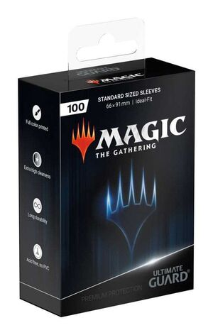 ULTIMATE GUARD FUNDAS ESTANDAR MAGIC PLANESWALKER (100)