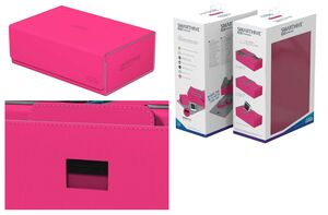 ULTIMATE GUARD SMARTHIVE 400+ XENOSKIN FUCSIA