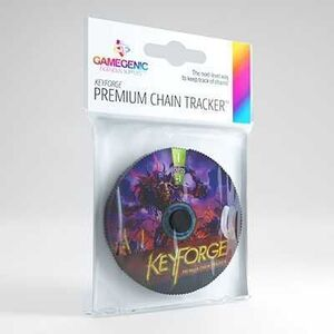 GAMEGENIC: KEYFORGE PREMIUM DIS CHAIN TRACKER ML