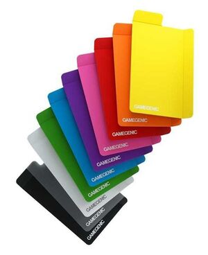 GAMEGENIC: CARD DIVIDERS MULTICOLOR