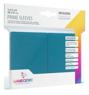 GAMEGENIC: PACK PRIME SLEEVES BLUE (100)