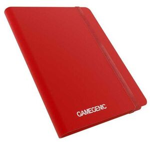 GAMEGENIC: CASUAL ALBUM 18-POCKET RED