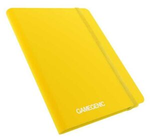 GAMEGENIC: CASUAL ALBUM 18-POCKET YELLOW