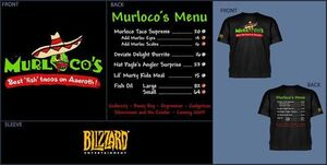 WORLD OF WARCRAFT CAMISETA CHICO MURLOCOS TACOS L